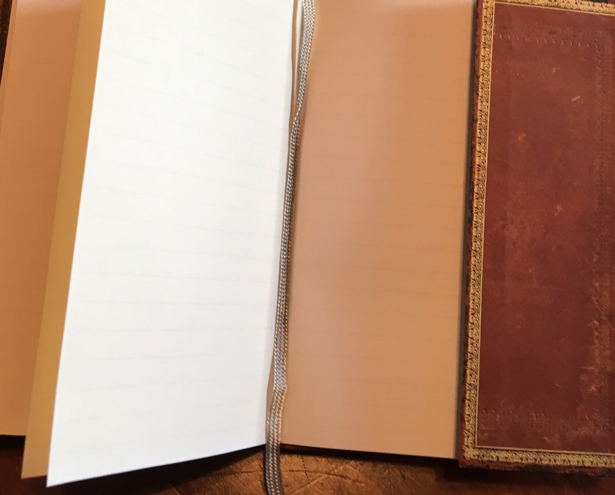 image of blank journal