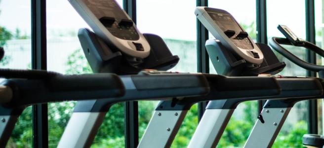 photo of treadmills