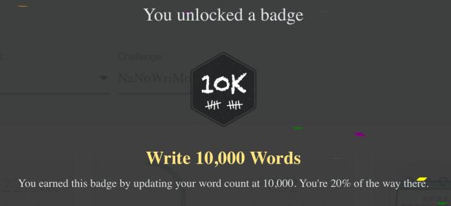10k badge screenshot